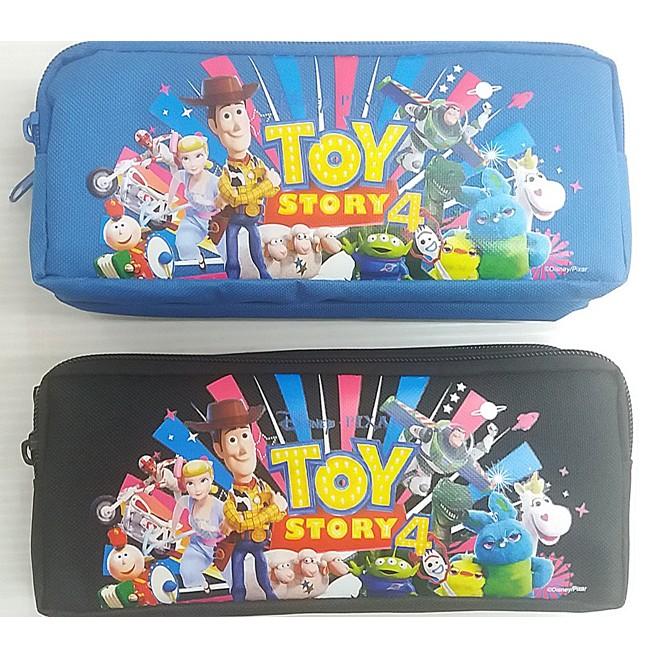 小魔女☂ DTWPK200-1 迪士尼 玩具總動員 雙拉鍊 筆袋 鉛筆盒 2F H-5