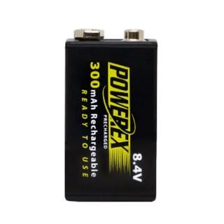 【控光後衛】MAHA-POWEREX 8.4V 低自放充電池1卡1顆(MHR84VP-300) 臺北市