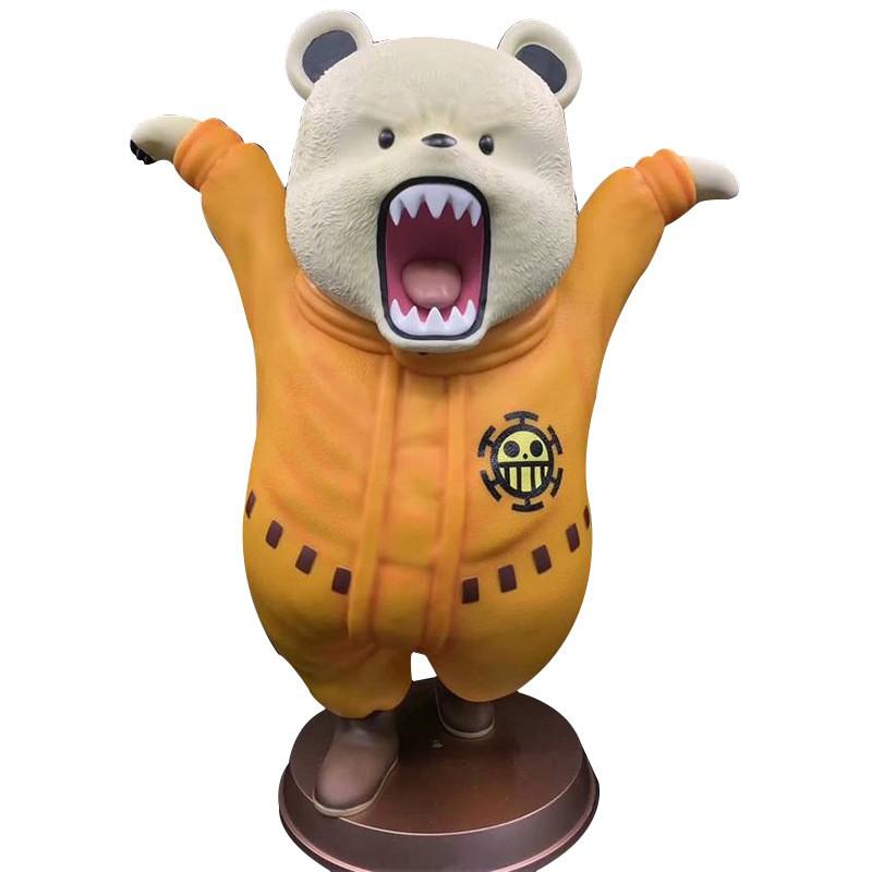 海賊王 超巨大 GK 貝波熊 bepo 功夫 大熊 手辦 雕像 模型 擺件