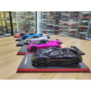 【炫酷】Peako 1:18 帕加尼 風之子 Zonda Monza仿真樹脂汽車模型1 18收藏
