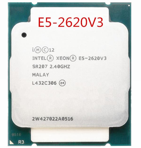Original E5-2620V3 E5-2620 V3 E5 2620V3 CPU Processor
