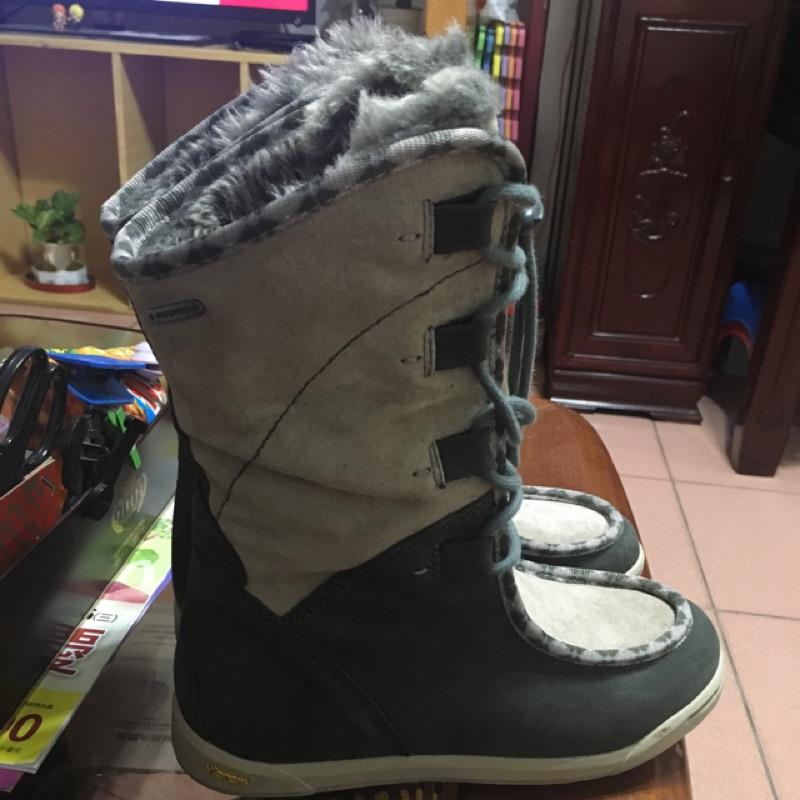 vibram雪靴 綁帶靴子含鞋盒 hi-Tec 登山鞋 保暖靴