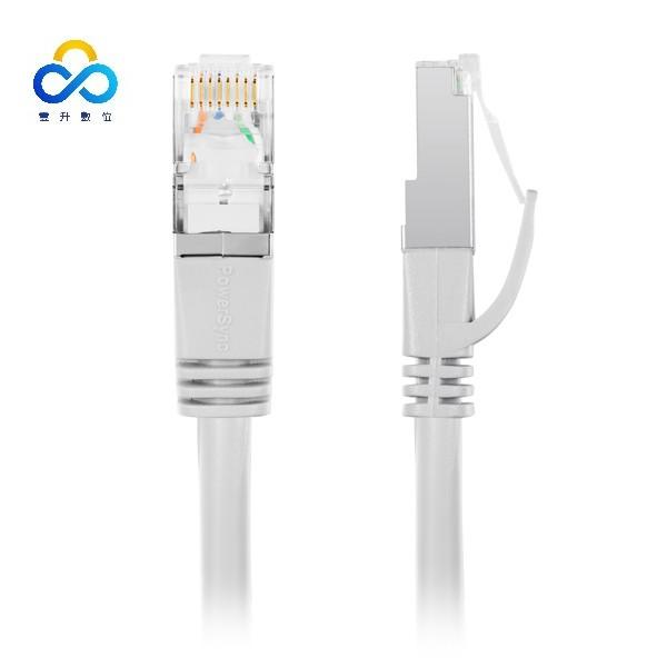 群加 PowerSync CAT 7 SFTP 10Gbps 超高速網路線-灰色 (CAT7-01)