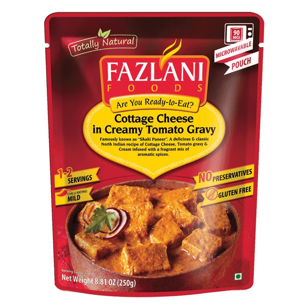 印度 Fazlani 番茄燴起司 即食包 250g