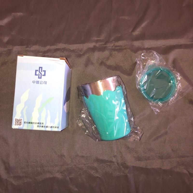 中鋼 台灣製 不鏽鋼 鯨彩都繪冷水杯 水壺 水杯 安安愛 杯子 水冷壺 兒童