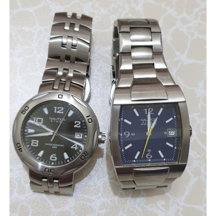 全新NAUTICA男用手錶共2款