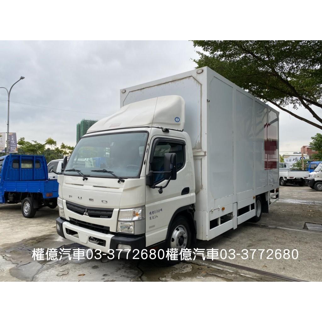一手車 2013年 FUSO 6.5噸 17尺 6噸半 大貨車 五期環保 五期貨車 中華三菱 FUSO 3.0 柴油貨車