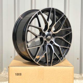 全新18吋5/ 108黑車面鋁圈~FOCUS MONDEO V40 V60 XC60(起標價非商品實際售價 請洽詢)