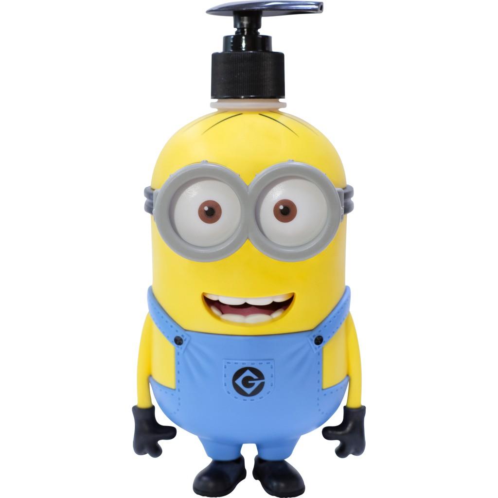 泰國 Madelyn Minions 小小兵3D立體版-DAVE(小孩用)洗髮沐浴露 台吉化工