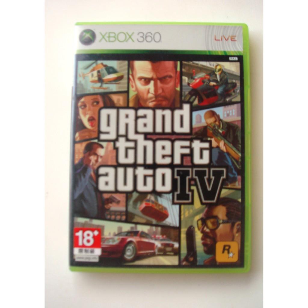 XBOX360 俠盜獵車手4 英文版(ONE可玩)Grand Theft Auto IV GTA4