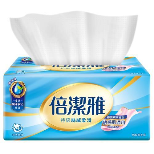 【現貨宅免運】倍潔雅特級抽取式衛生紙110抽x12包x8袋