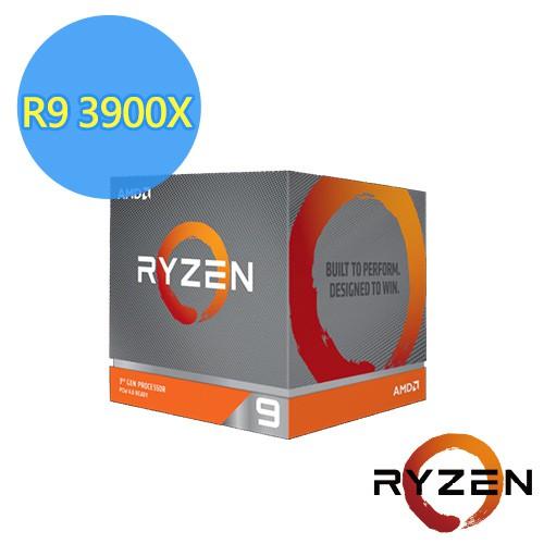 AMD Ryzen 9-3900X/3900XT 3.8GHz 12核心 中央處理器