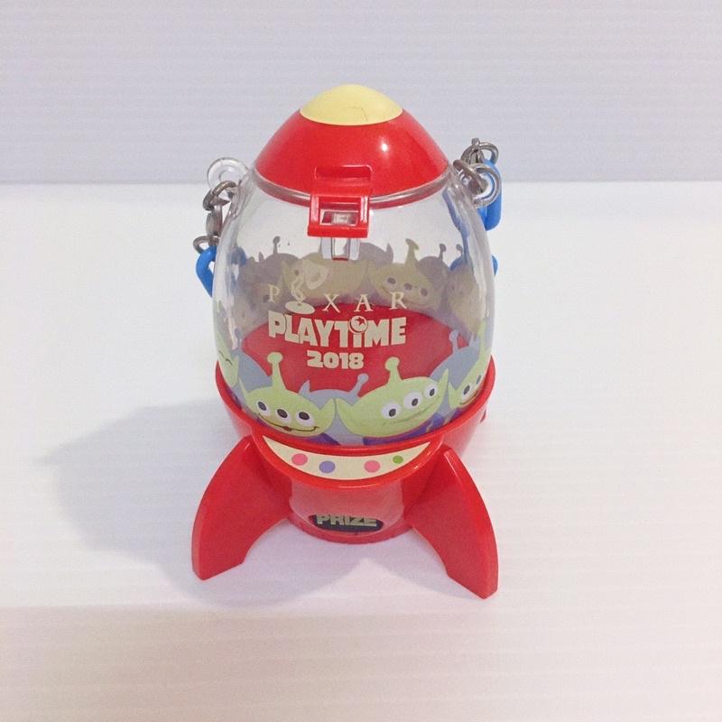 ఠఠ్రఠ 絕版 迪士尼 皮克斯 三眼怪 玩具總動員 火箭 糖果罐 二手