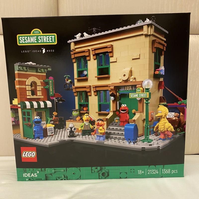 限大安區面交 限面交 全新未拆 現貨 正版 LEGO 21324 123 芝麻街 ideas系列