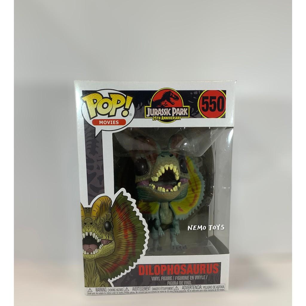 •Nemo Toys• Funko POP 現貨 電影系列 侏羅紀公園 雙冠龍