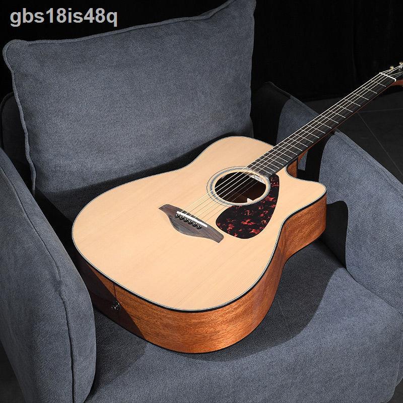 【電音吉他】✒№YAMAHA雅馬哈FG800單板民謠電箱木吉他初學者學生男女41/40寸