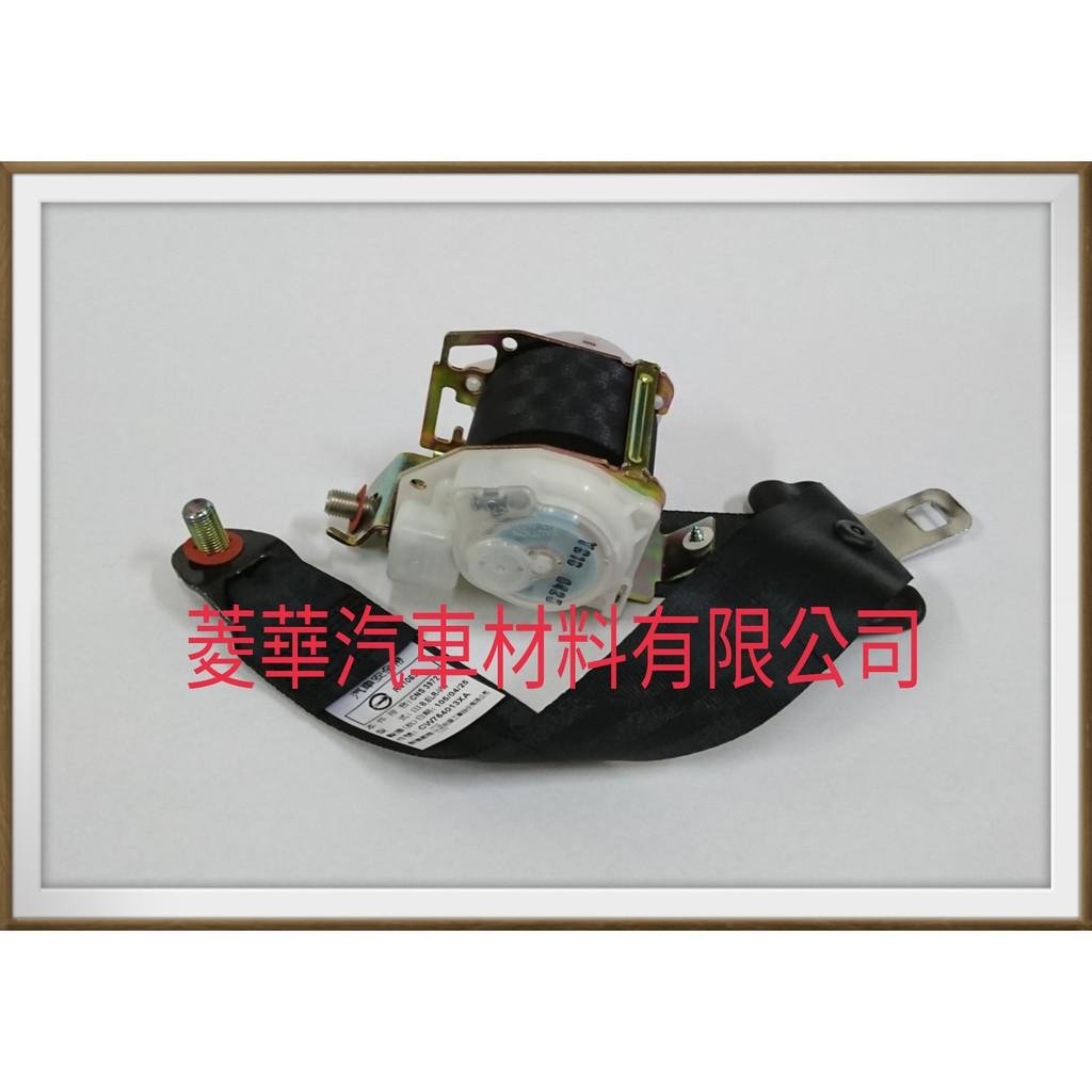 GRUNDER 2.4 後座椅安全帶 黑色織帶 2005年~2015年 中華三菱汽車正廠件