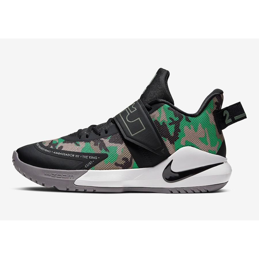 正貨 Nike LeBron Ambassador12 Camo BQ5436-004 男 籃球鞋