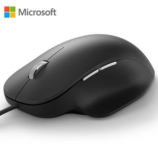 【也店家族 】 微軟 Microsoft 人體工學 有線 滑鼠 RJG-00005 舒適精準_多工按鈕
