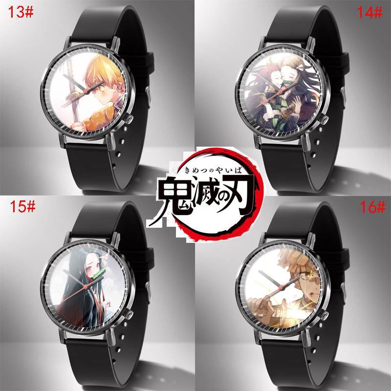 動漫C 鬼滅之刃 鬼 滅 之刃 禰豆子 手錶 時尚潮流石英錶 腕錶 日漫 日本二次元 情侶 交換禮物