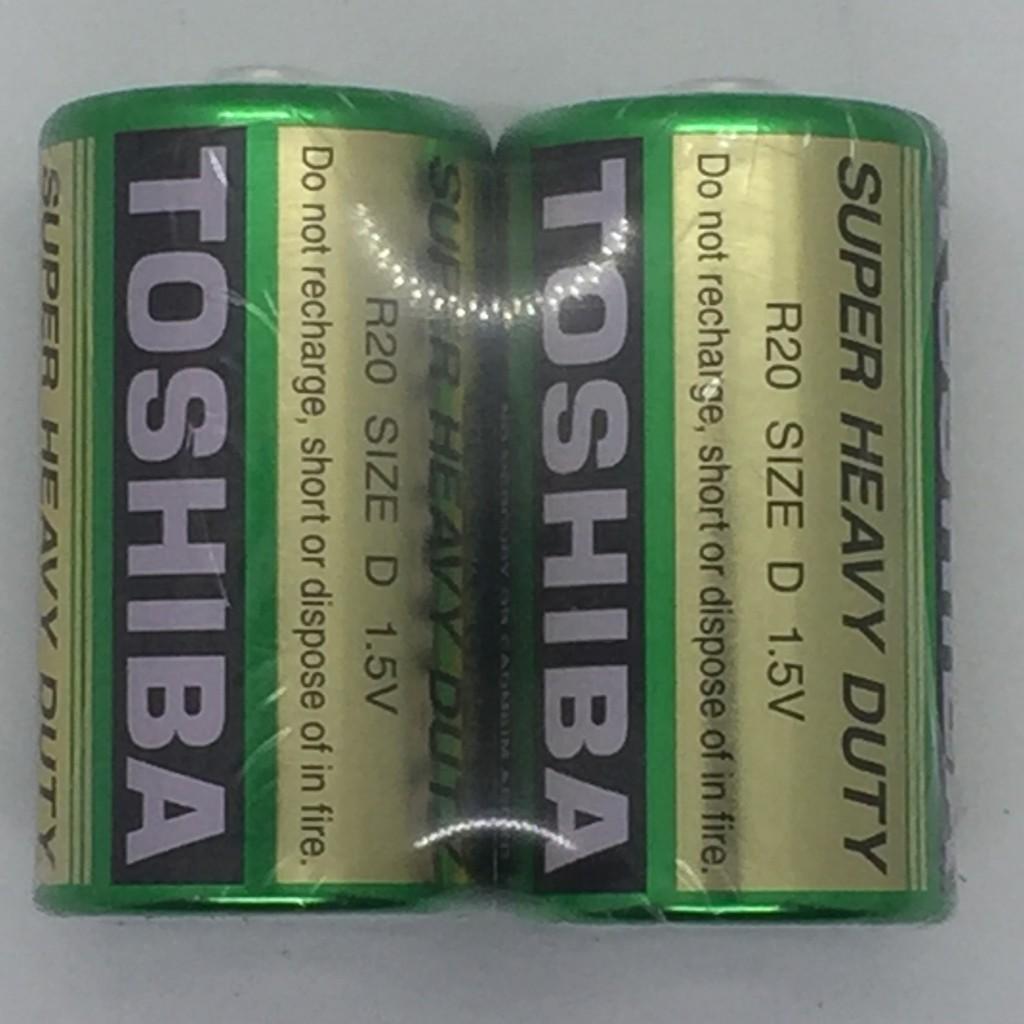 東芝 環保碳鋅電池1號2入
