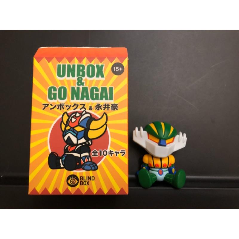 Nagai x Unbox盲盒 Unbox 永井豪聯名 盒玩 確認款 售鋼鐵
