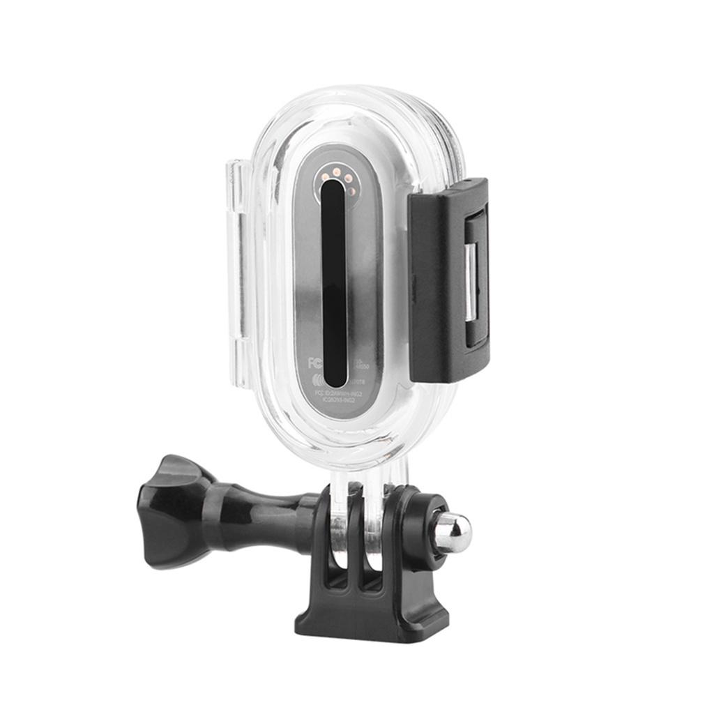 用於Insta360 Go2動作相機的潛水保護盒,帶螺釘部件