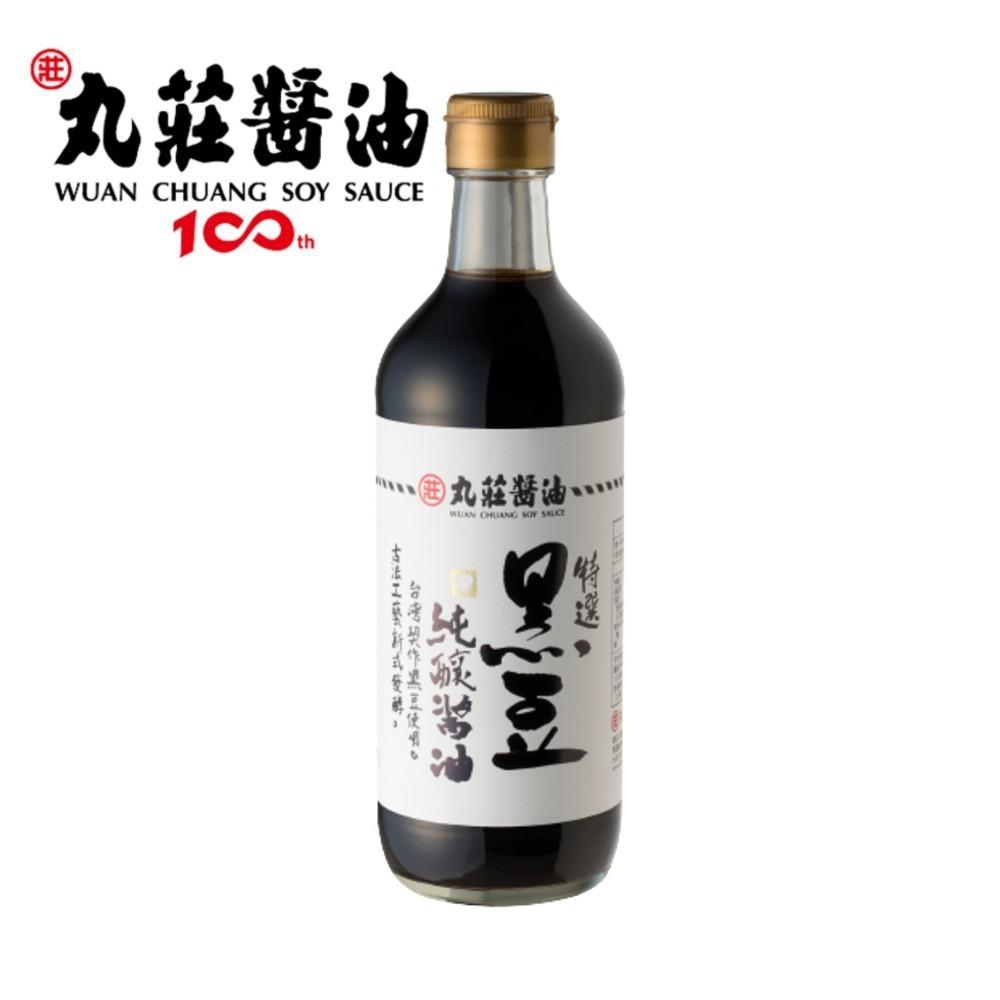 [丸莊]特選黑豆純釀醬油450ml