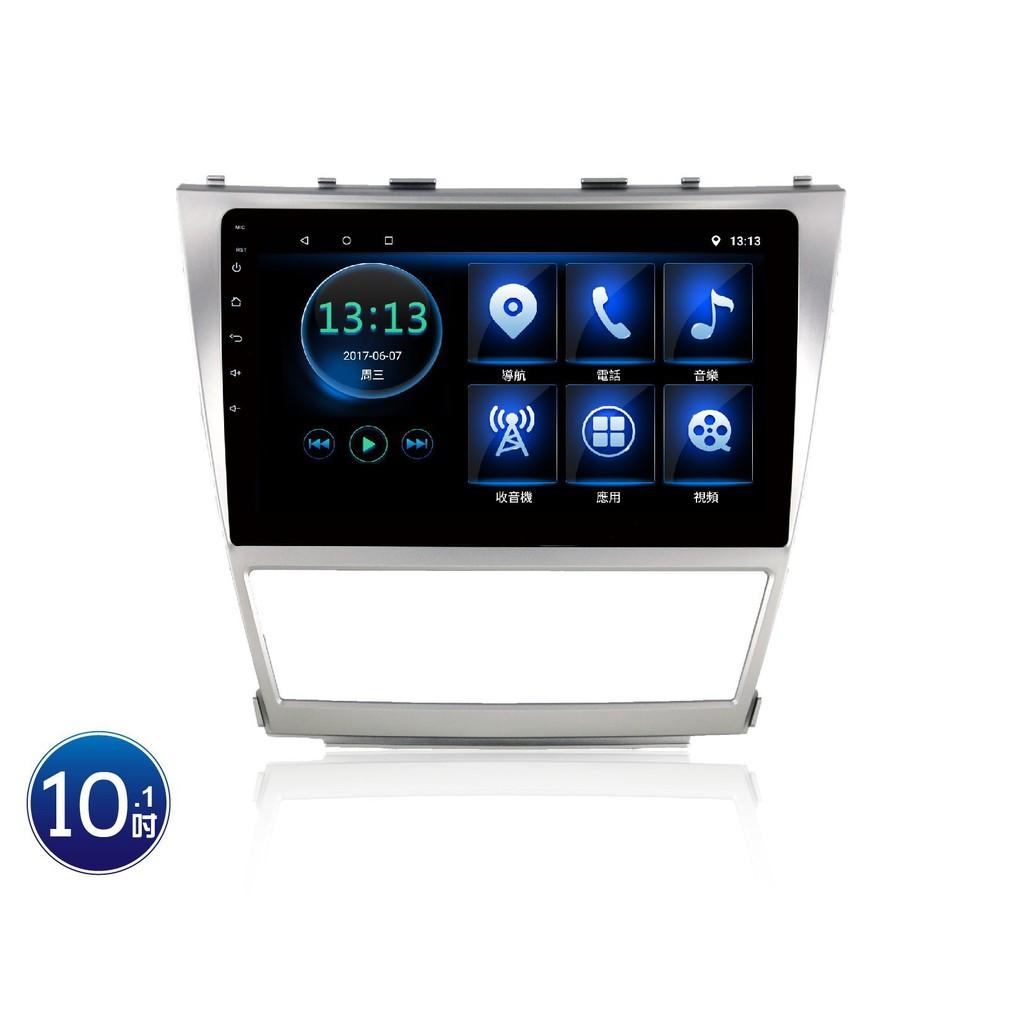 (小鳥的店)豐田 2008-11 CAMRY 影音10吋專用機 JHY 音響主機 R3 安卓 互聯 導航 toyota