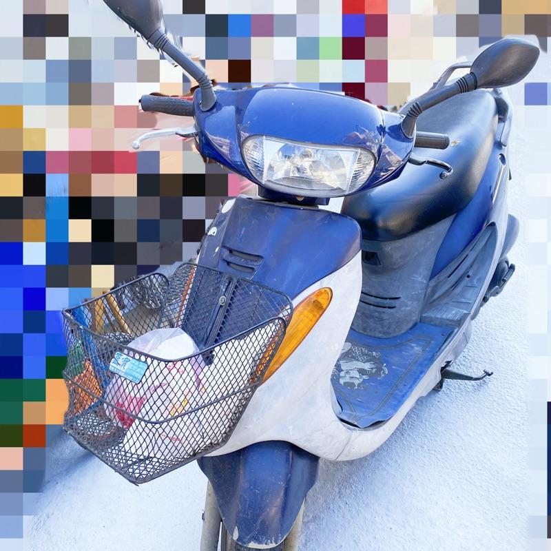 (自售)KYMCO 光陽 豪邁 奔騰 G3 中古機車 125cc 無改裝 藍色 鼓煞