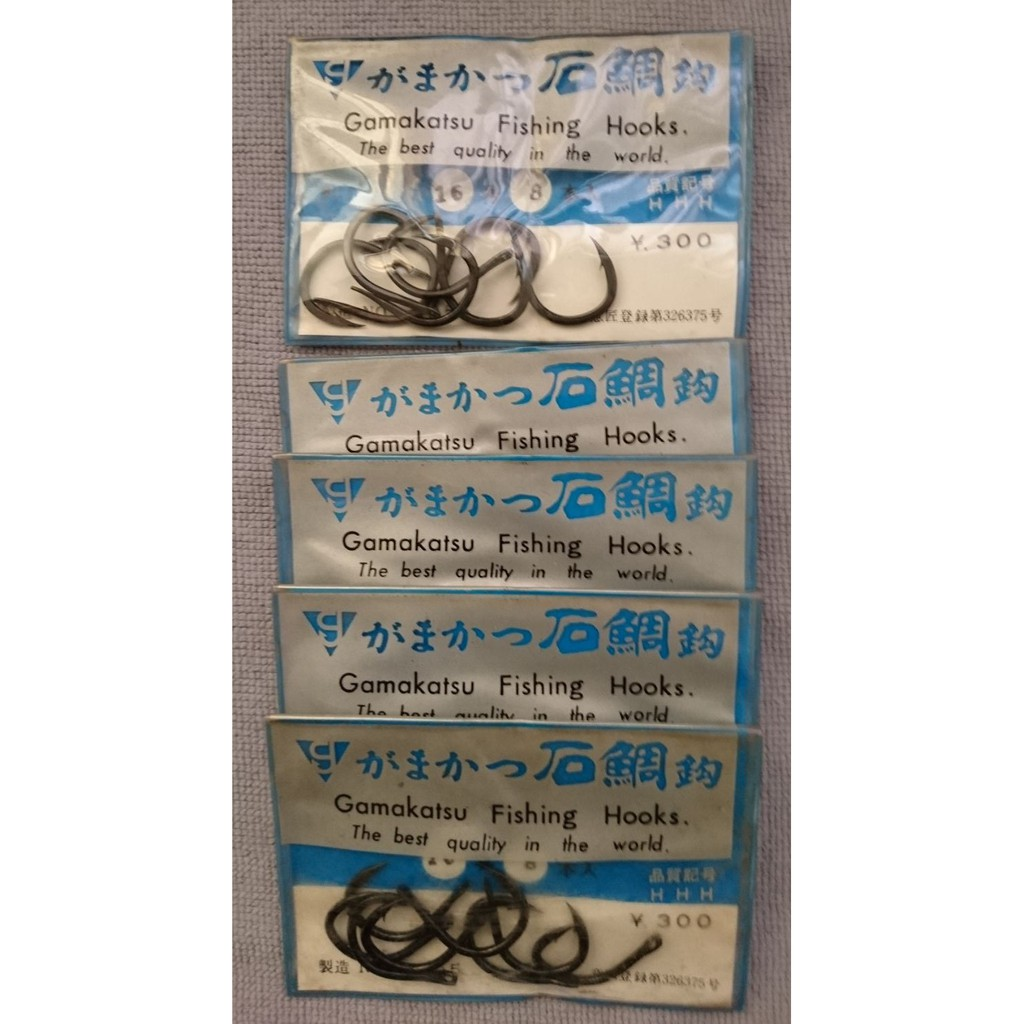 gamakatsu がまかつ 石鯛鉤 -がま石-16号