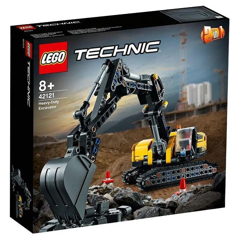 🍥樂高(LEGO)積木益智玩具男女孩禮物機械組重型挖掘機42121🥥
