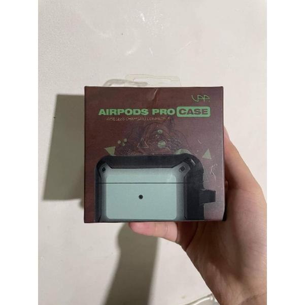 VAP Airpods pro 雙色軍規防摔殼- 軍綠+黑色