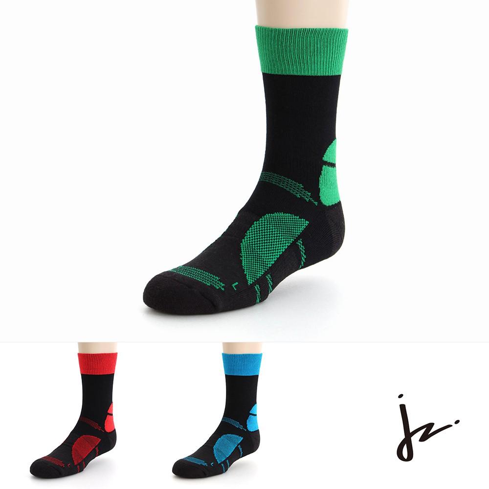 [限時下殺]【JZ】萊卡彈力無限專業運動機能登山襪26-29cm《泡泡生活》