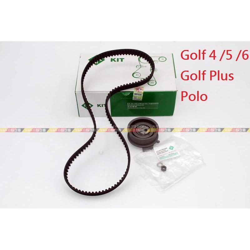 (VAG小賴汽車)Golf 4 5 6 Golf Plus Polo 正時皮帶 組 時規 舵輪 全新