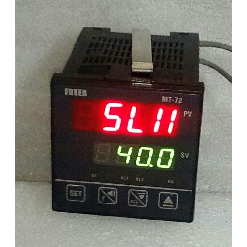🌞 台灣製造 FOTEK 陽明 MT-72 溫度控制器 MT72-R 微電腦式溫控器 90~265VAC 繼電器輸出