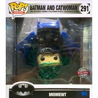 {克拉克玩具} FUNKO POP DC Batman Catwoman 經典場景 蝙蝠俠 +貓女