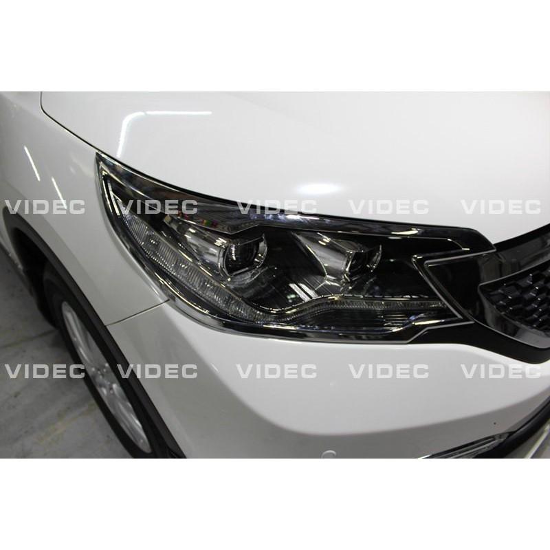 巨城汽車 HONDA 12-15 CRV 4代 四代 鍍鉻 大燈框 材質 ABS 電鍍