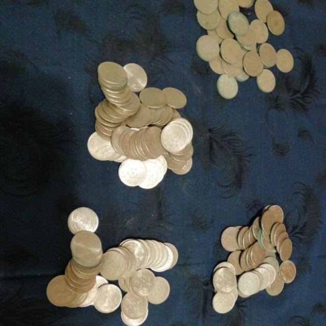 中華民國 台灣 錢幣 一元 民國49年,60年,61年,62年,63年,64年,65年,66年,1元 硬幣 壹圓 蘭花