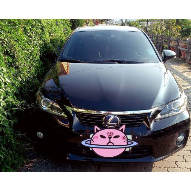 自售 Lexus 2013出廠 ct200h 黑色(購買一年內大電如果壞掉。二話不說:直接回原廠換新的給您)