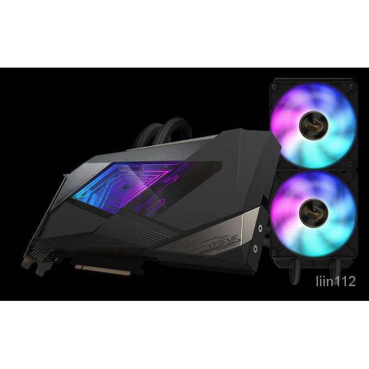 (限時搶購)技嘉AORUS GeForce RTX™ 3090 XTREME W 24G一體水雕 遊戲顯卡