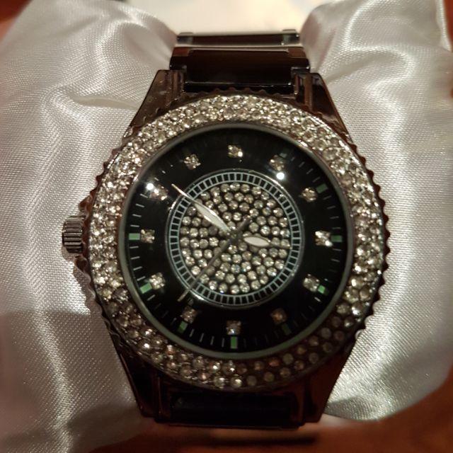 BAONA 陶瓷水鑽手錶