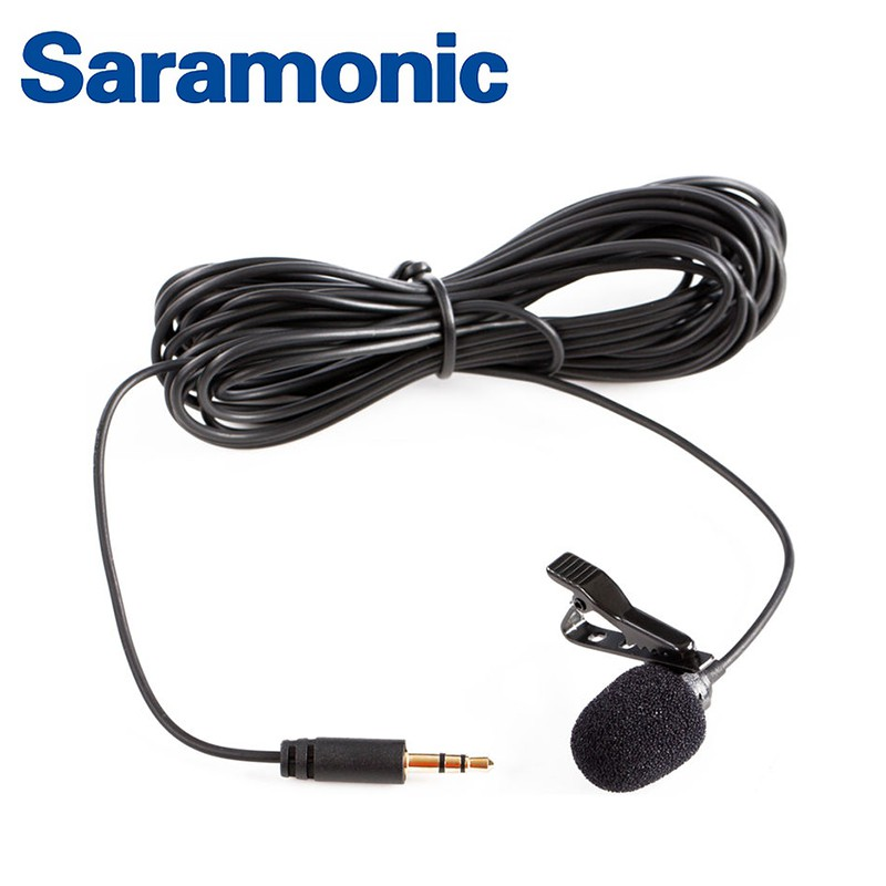 Saramonic 全向性電容式 領夾式麥克風 SR-XLM1 節目收音 訪談節目 [相機專家] [勝興公司貨]