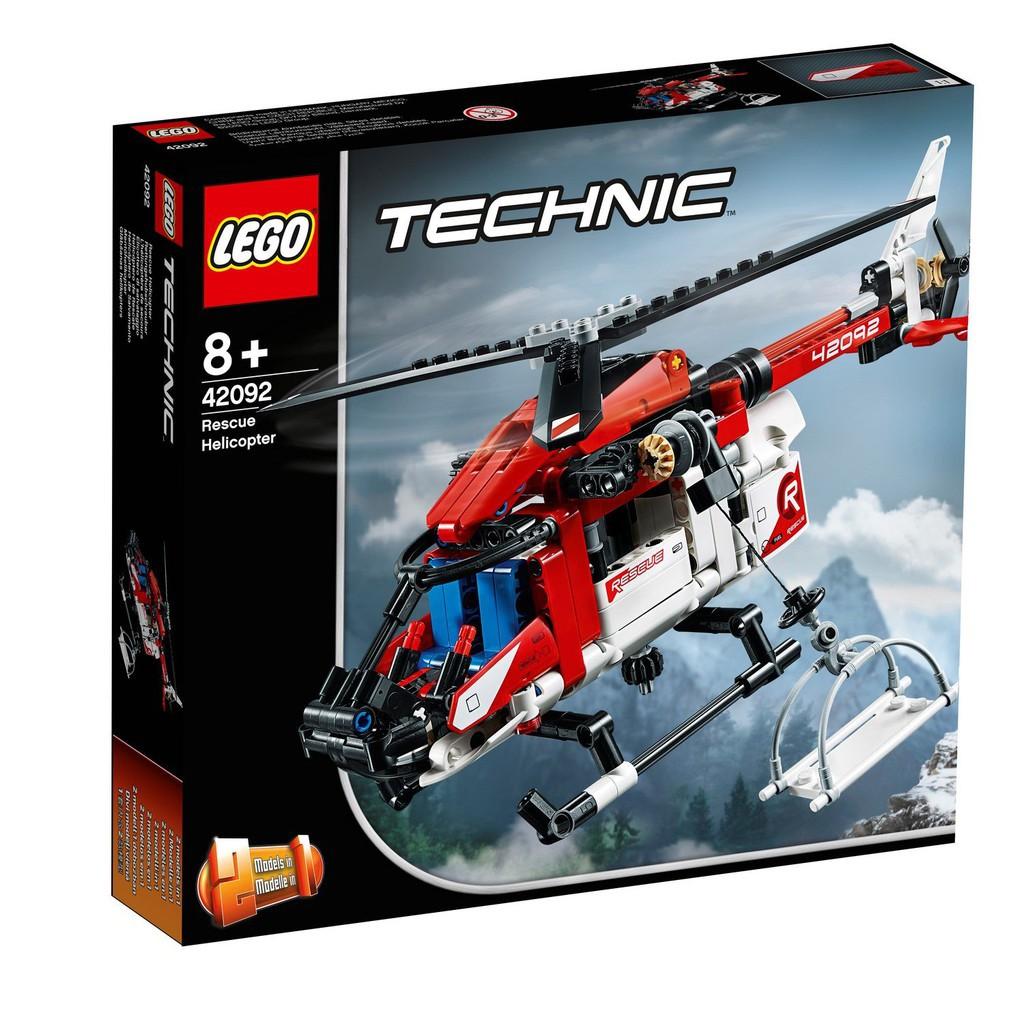 [ 玩樂磚家 ] LEGO 42092 救援直升機 TECHNIC 科技系列