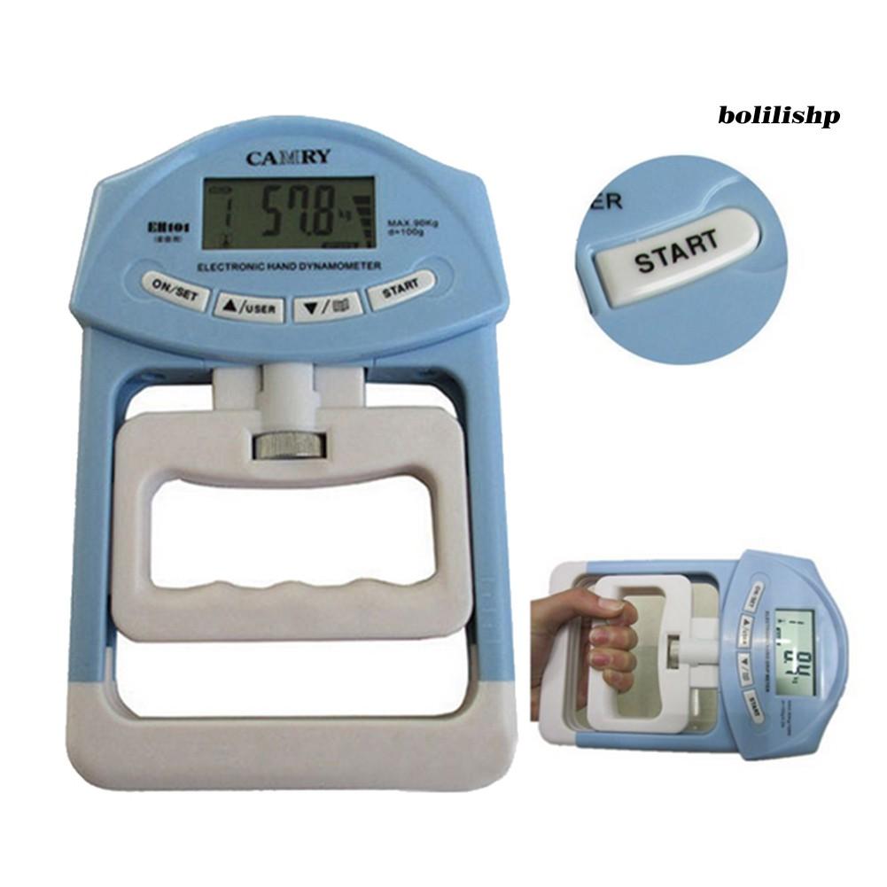 Boli _ 198lb / 90kg 電子數字液晶手握強度血壓計測量儀