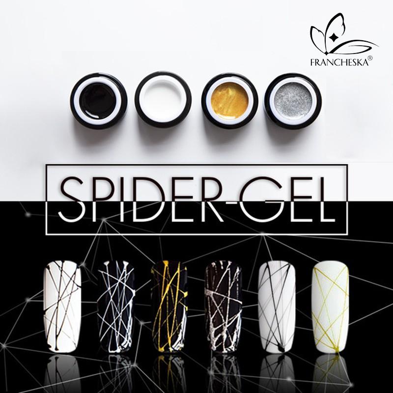 美甲彈力拉絲膠蜘蛛膠超強彈力日本拉絲膠彩繪膠指甲油蜘蛛膠DIY