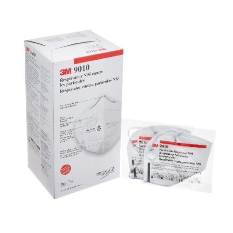 3M™ N95 經濟型拋棄式防塵口罩 9010