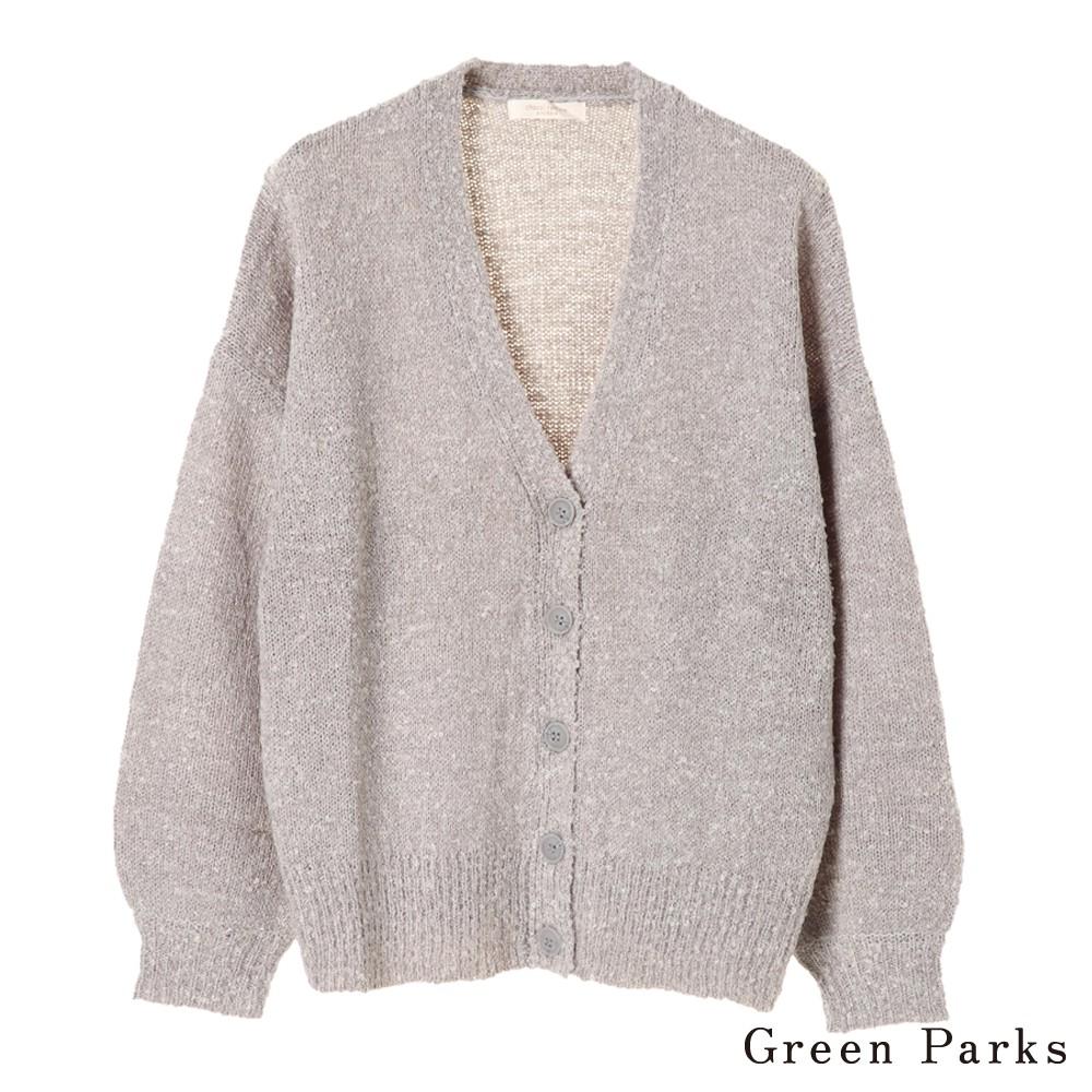 Green Parks 磨毛寬鬆舒適罩衫/外套(60187D70000)