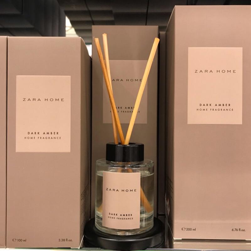 Zara Home Dark Amber 琥珀 居家 香氛 擴香 聖誕禮物 聖誕節 交換禮物