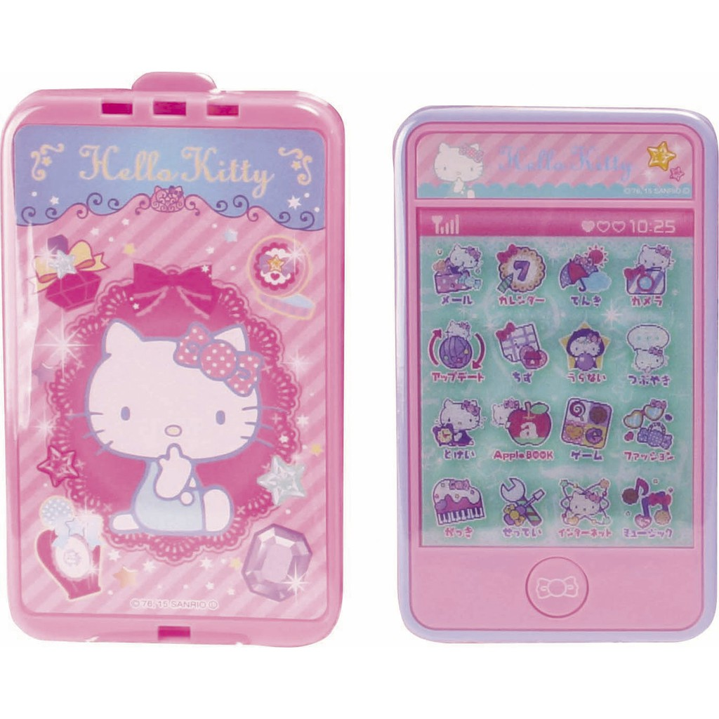 日本  HELLO KITTY 凱蒂貓 觸控手機玩具 (1005)
